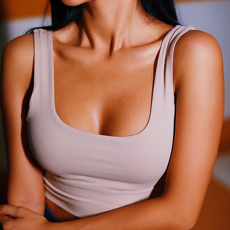 Les femmes Push Up Soutien-gorge sans couture Sport Workout Femme Sport Top Crop Fitness Run Yoga Active Wear Gym Brassiere femmes Vêtements de sport de