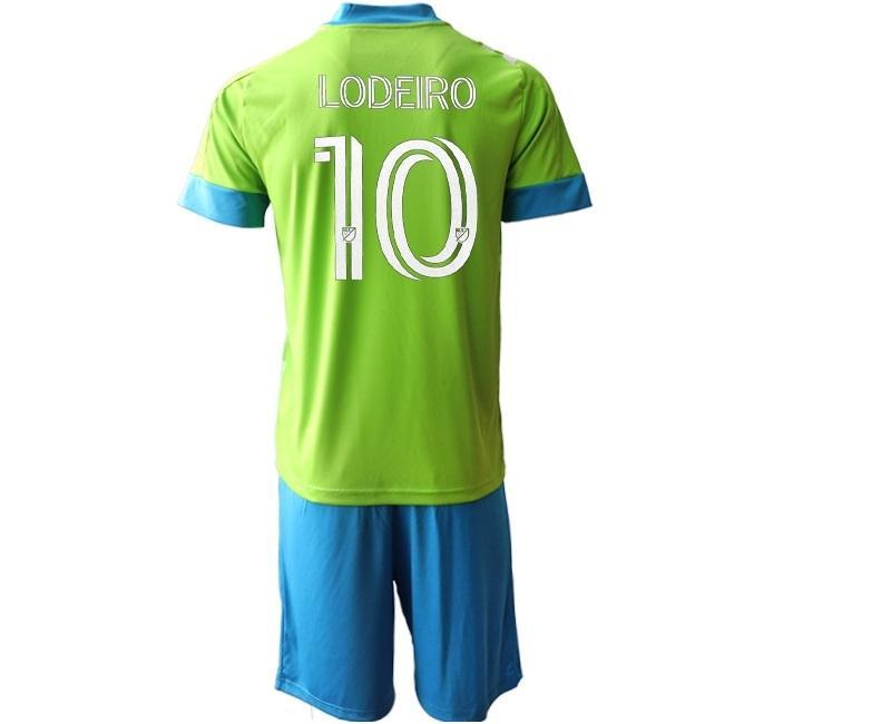 20-21 personalizado 10 LODEIRO 9 RUIDIAZ 7 ROLDAN 29 TORRES 14 MARSHALL 13 MORRIS Futebol Jersey Conjuntos Tops Shorts, homens loja online personalizada