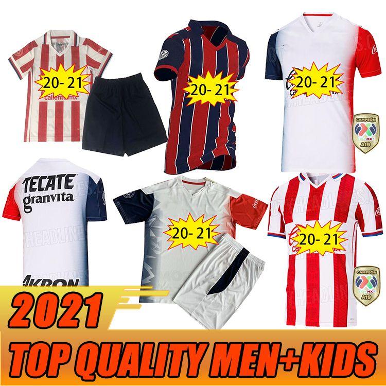 2020 Гуадалахара Футбол Джетки Chivas Regal Macias I.Brizuela O.Peralta A.Vega Home Oled 31 21 футбол Мужская рубашка 16- 2XL