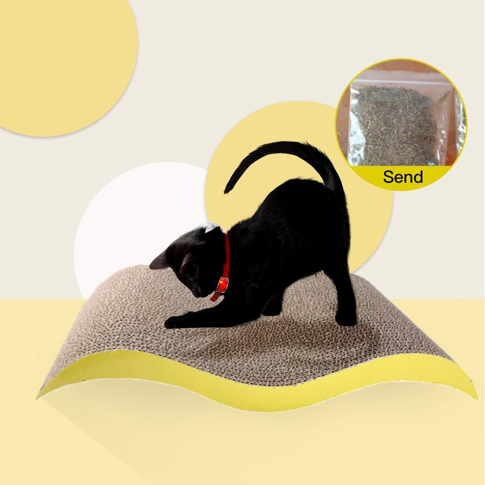 Cat Scratch Carton Ondulé Petit arquéesLes Cat Nest Cat Interactive Toy résistant à l'usure Pet Toy Pet Claw Appareil Pet Supplies sqcJHM