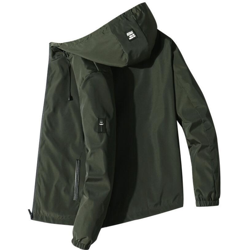 2021 Мужчины Мода Осень Новое Прибытие Человек Ветрозащитный Пальто Мужской Windreaker Windreaker J37J