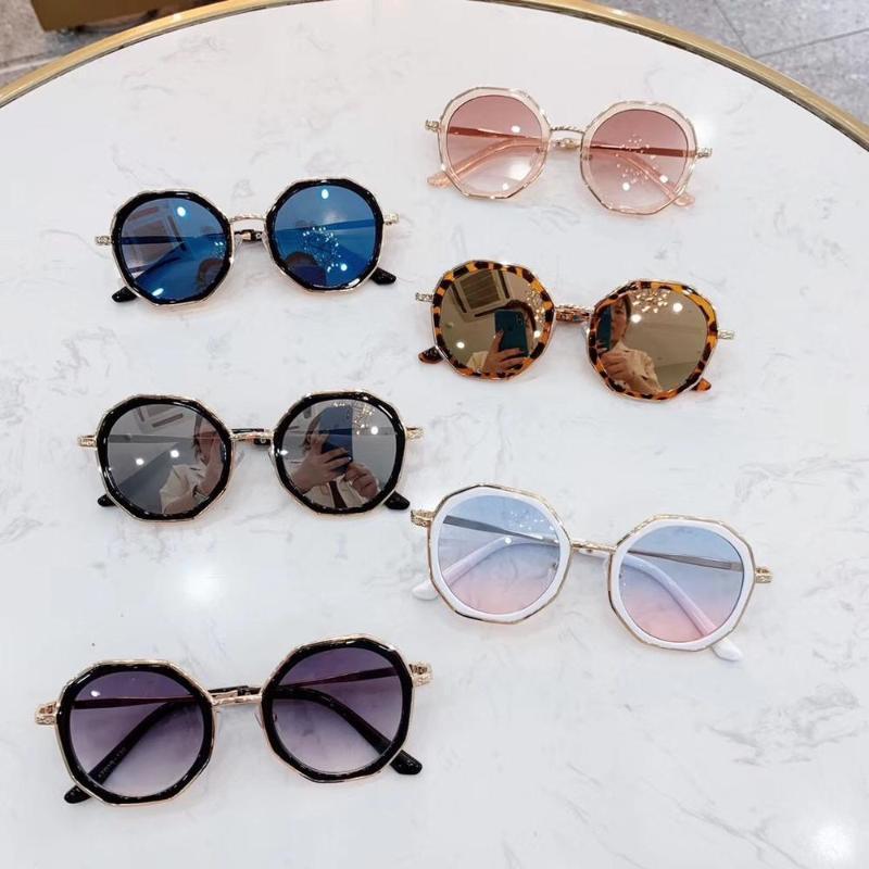 Sfumature moda sole occhiali da sole ragazzi bambini bambino occhiali ragazze ragazze bambini lusso occhiali da sole irregolari hkuev