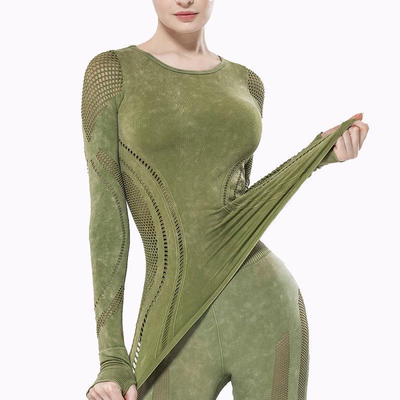 Empuje las mujeres Sportswear de arriba sin fisuras sujetador de los deportes entrenamiento deporte de las mujeres Camisa corta aptitud ejecutar Active Wear Yoga Gimnasio sujetador las mujeres