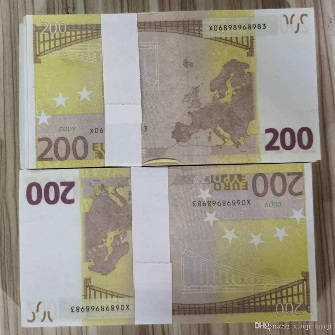 Игрушки Реалистичные Prop Money Pript Party Party Gooket Ba Bar Большинство бумажных реквизитов Faux 15 Праздничные игры Gameet Games Euro Toys Tilxg