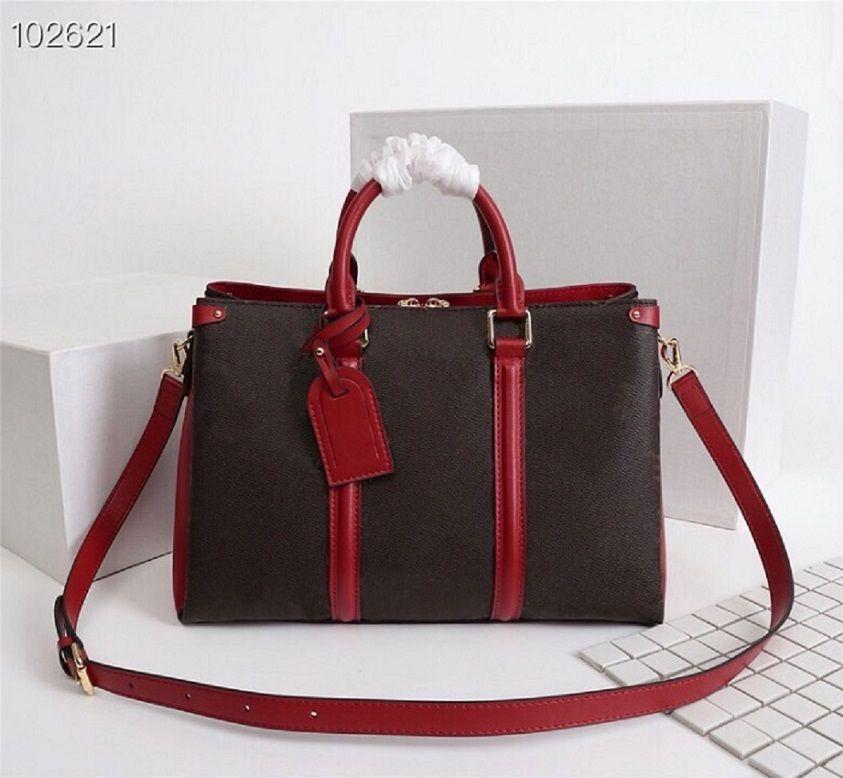 Çanta Haumaa Çantalar Luxurys Tasarımcılar Kalite Yüksek Çantalar Deri # 855 Çanta Öğrenci Marka Çanta Fermuar Omuz Tote Orijinal Kadınlar Gerçek I XWTM