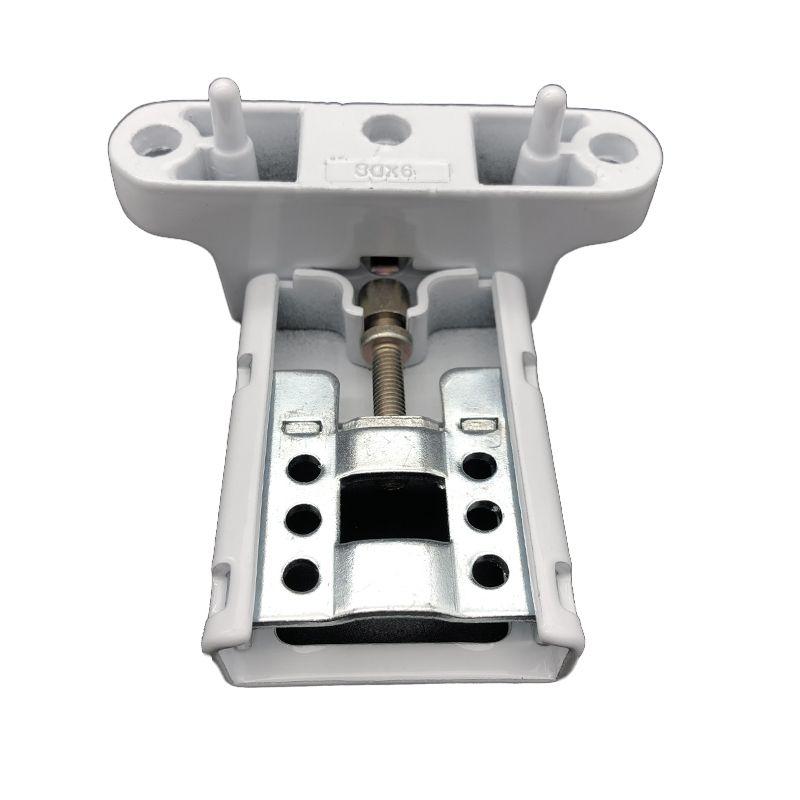 matériel charnière serrure de porte 2D alliage d'aluminium belle apparence solide et durable Deux couleurs sont disponibles