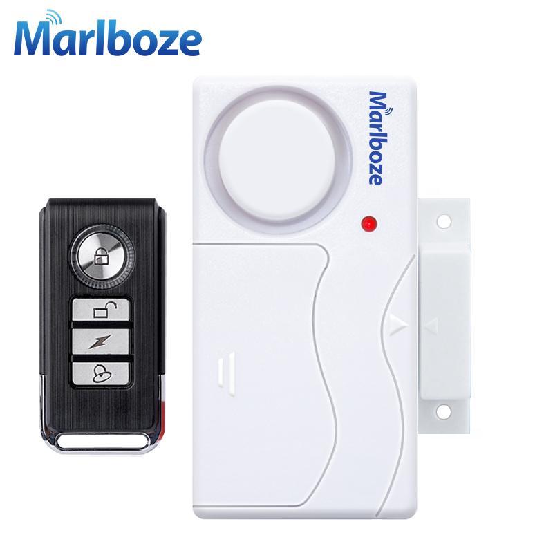 Tür-Sensor Alarm Fenster Eintrag Sicherheit ABS Wireless Fernbedienung Tür