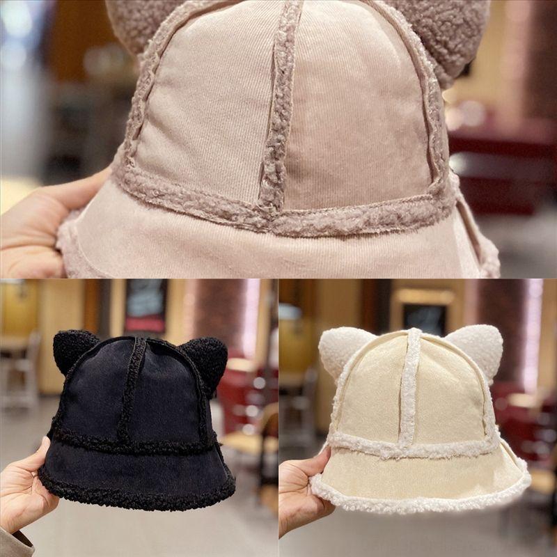 Hely Moda Kürk Kova Şapka Panama Baskı Yüksek Kalite Leopar Peluş Kadın Balıkçı Şapka Şapka Sonbahar Balıkçı Kış Sıcak Tasarımcı Için