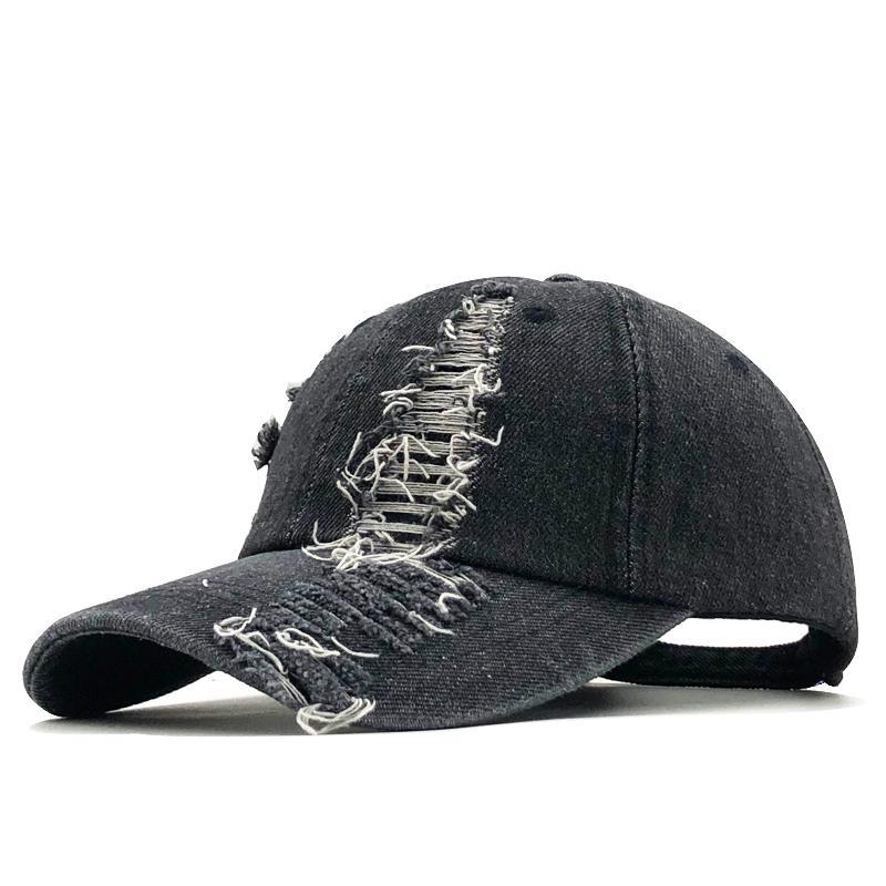 Женская бейсболка промытый ретро джинсовые шляпы Snapback джинсы мужчины женские кепки ковбойское летнее солнце шляпу 201026