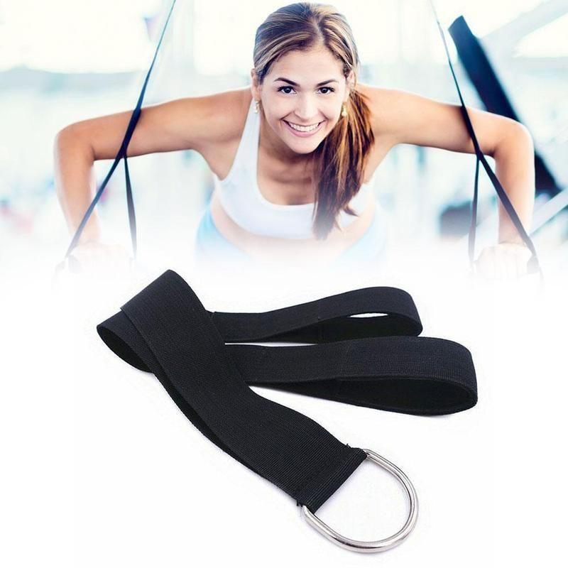 1pcs nylon triceps corde câble poignée poignée câble machine Crossover Fixation supplémentaire Résistance Fitness exercice Accessoires