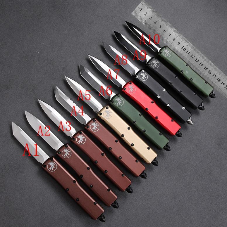 2021 HW78 Surivial Bıçak Klasik Mikro Teknoloji A14 A07 Dişli Ejderha Katlanır Bıçaklar Açık Kamp EDC Araçları Survival Ekipmanları