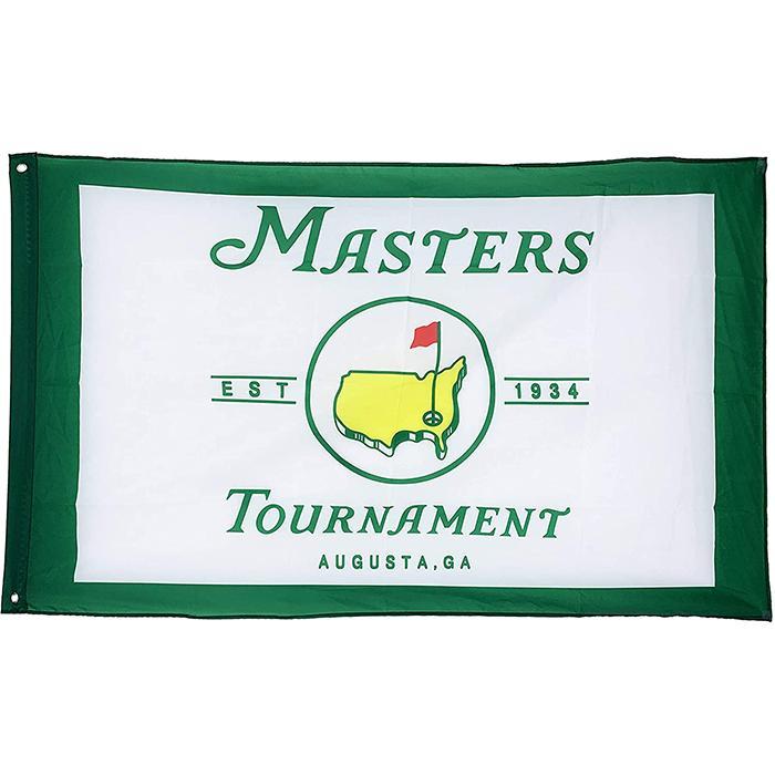 Masters PGA Golf 3x5 Flagge, individuell gestaltete 3x5ft Flags, All Country Digitaldruck 80% Bleed, 100D Polyester, Schneller Versand, freies Verschiffen