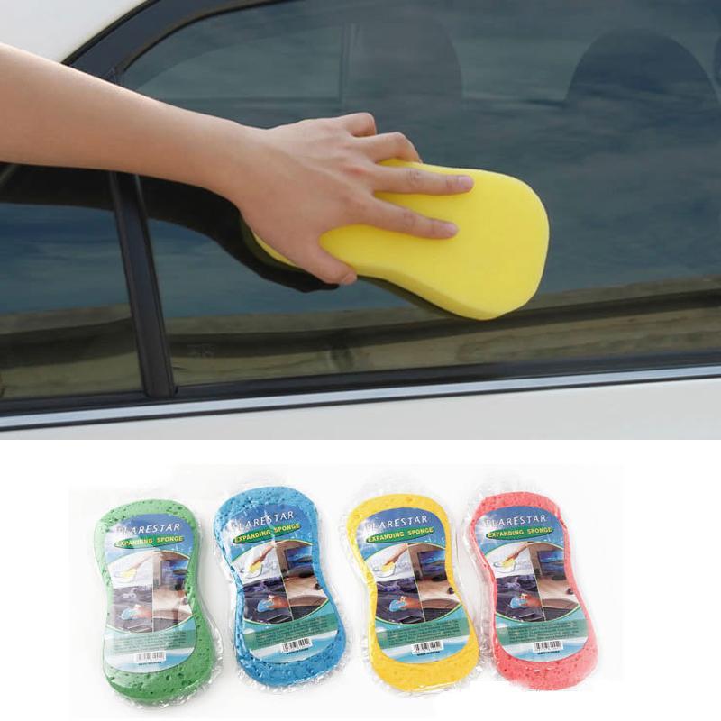 Carro limpeza esponja esponja almofadas de lavar vácuo expansão de compressão esponjas poeira cozinha limpa ferramenta limpa dhl