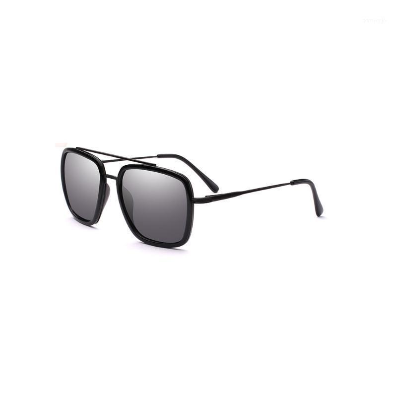 Óculos de sol suqare moldura estilo polarizado homens de negócios elegante qualidade 20211