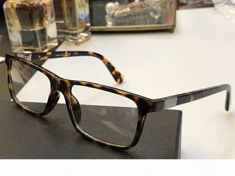OPR 06SV lujo de la manera de los hombres marca de diseño del marco populares PD 06SV vidrios ópticos de la lente Cuadrado Encuadre Negro tortuga de calidad superior con el caso