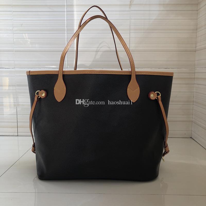 Designer Hochwertige braune versand übergroße klassische Tasche, zwei einkaufen echte leder freie handtaschen, taschen, preise, diskontiertes presby pipp