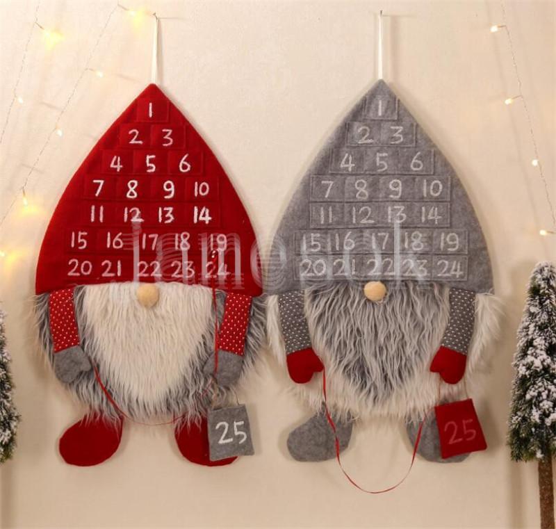 غابة الرجل العد التنازلي عيد الميلاد تقويم الإبداعية عيد الميلاد الديكور يوريب الرجل العد التنازلي قلادة عيد الميلاد قلادة DB140