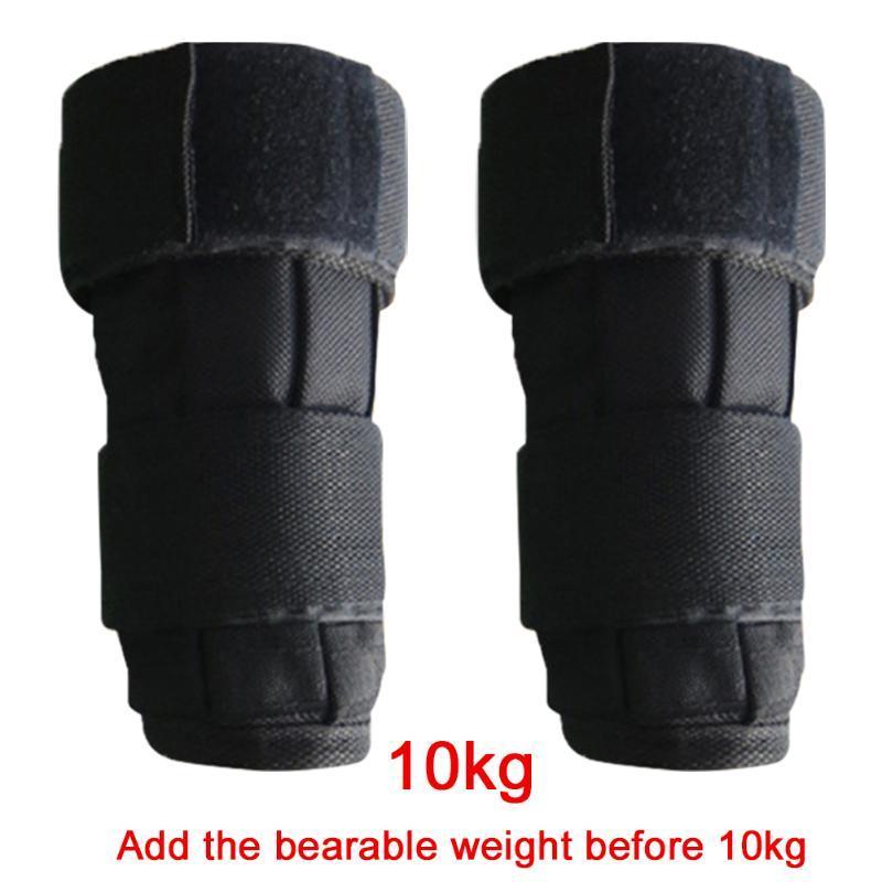 Sac de sable 1Pair Sandbag Oxford Tissu Force Formation Fitness Gym Strap Sangle Poids du poignet Exercice pour adultes Protection de la cheville en cours d'exécution