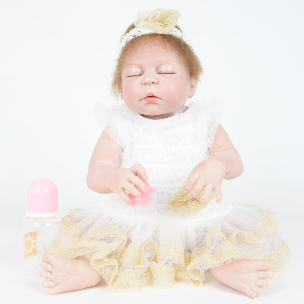 Горячая распродажа симуляция возрождение ребенка творческая кукла девушка подарок 28м