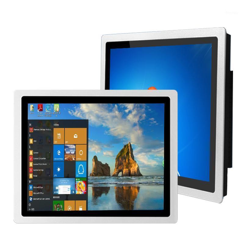 10,4-Zoll-Industrieanzeige, vordere wasserdichte und staubdichte, kapazitive Touch,, VGA, USB, DVI1