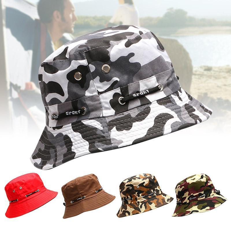 Men Women Bucket Hat Soft Breathable Casual Sunshade Cap for Outdoor NYZ Shop1