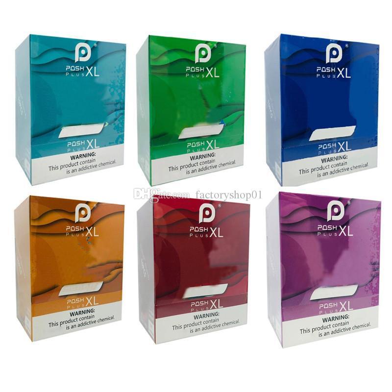 POSH PLUS XL Einweg 1500 Puff 5 ml vorgefüllten Kartuschen Vape Pen VS Puff Bar Plus-Flow-XXL Bang Xtra Auf Lager