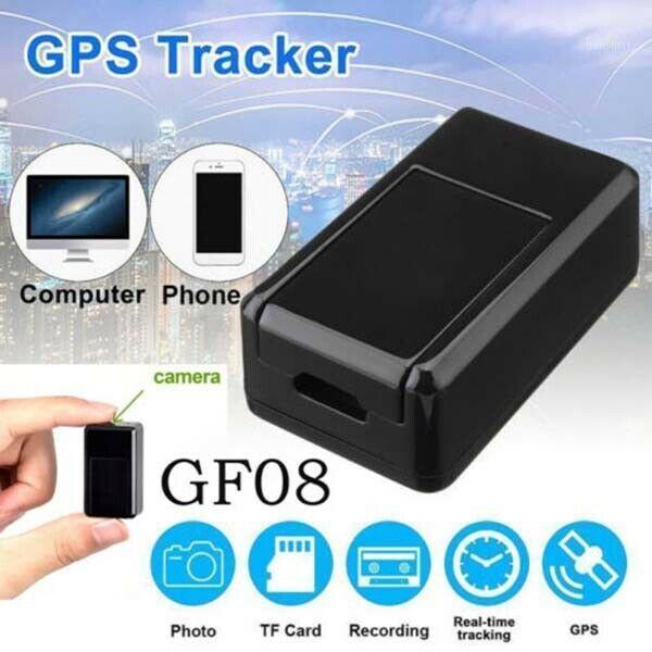Anti-Lost-ALARM GF07 / GF08 Mini GPS-Tracker Echtzeit GSM / GPRS Auto Fahrzeugverfolgung Locator SIM-Kamera Magnetische Hörmonitorgerät1