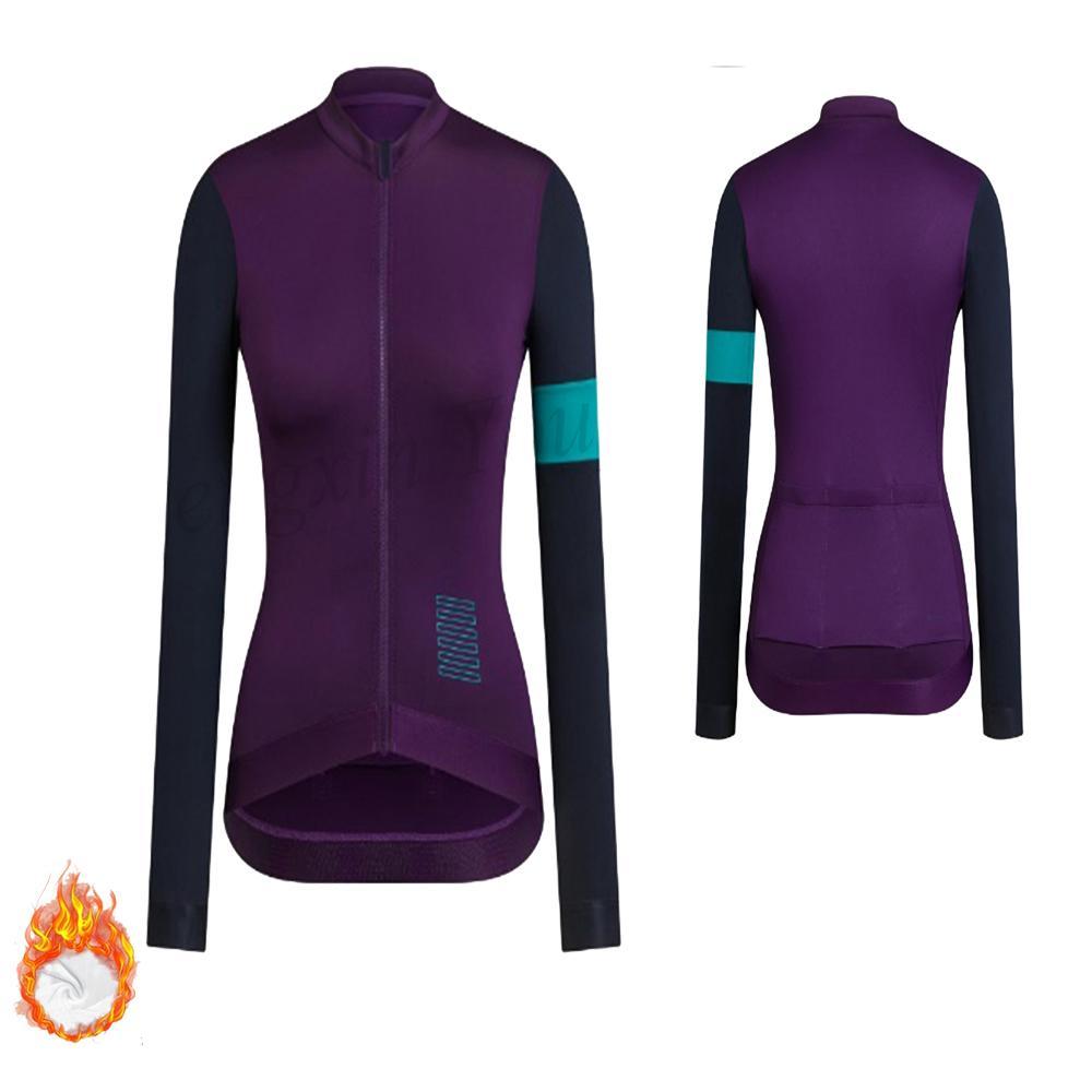 Женщины с длинным рукавом Lady задействуя Джерси термальной ватки куртка Pattern Открытый Женский Keep Warm спортивная одежда