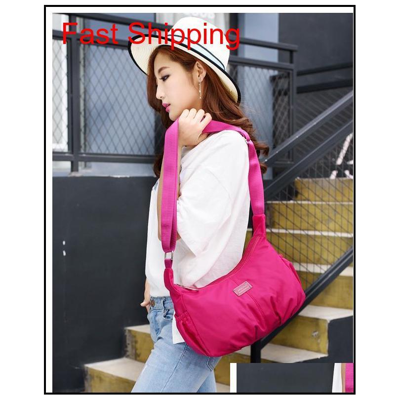 Женская сумка Сумка Messenger 2019 Новая Оксфорд Ткань Водонепроницаемый Диагональ Пельмени Плеча Повседневная NYL QYLBEG Упаковка2010