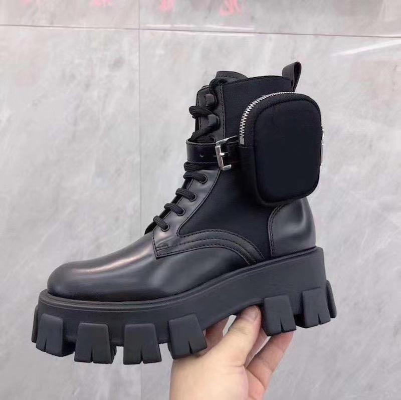 Las mujeres Rois botas de la rodilla tobillo Martin botas de nylon y de arranque de inspiración militar botas de combate bouch nylon tobillo unida con la caja