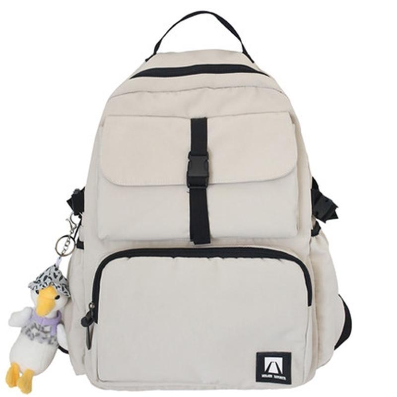 Chongsukei trendy schoolbag harajuku ulzzang médio e estudantes do ensino médio grande capacidade mochila feminina nylon saco de computador 201199