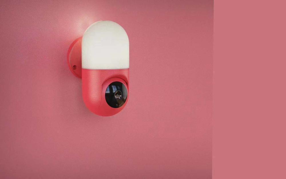Telecamere 2MP 1080P 360 gradi Wireless PTZ Lampada da parete della macchina fotografica IP 180 Vista panoramica Home Security CCTV CCTV Citofono Baby Monitor