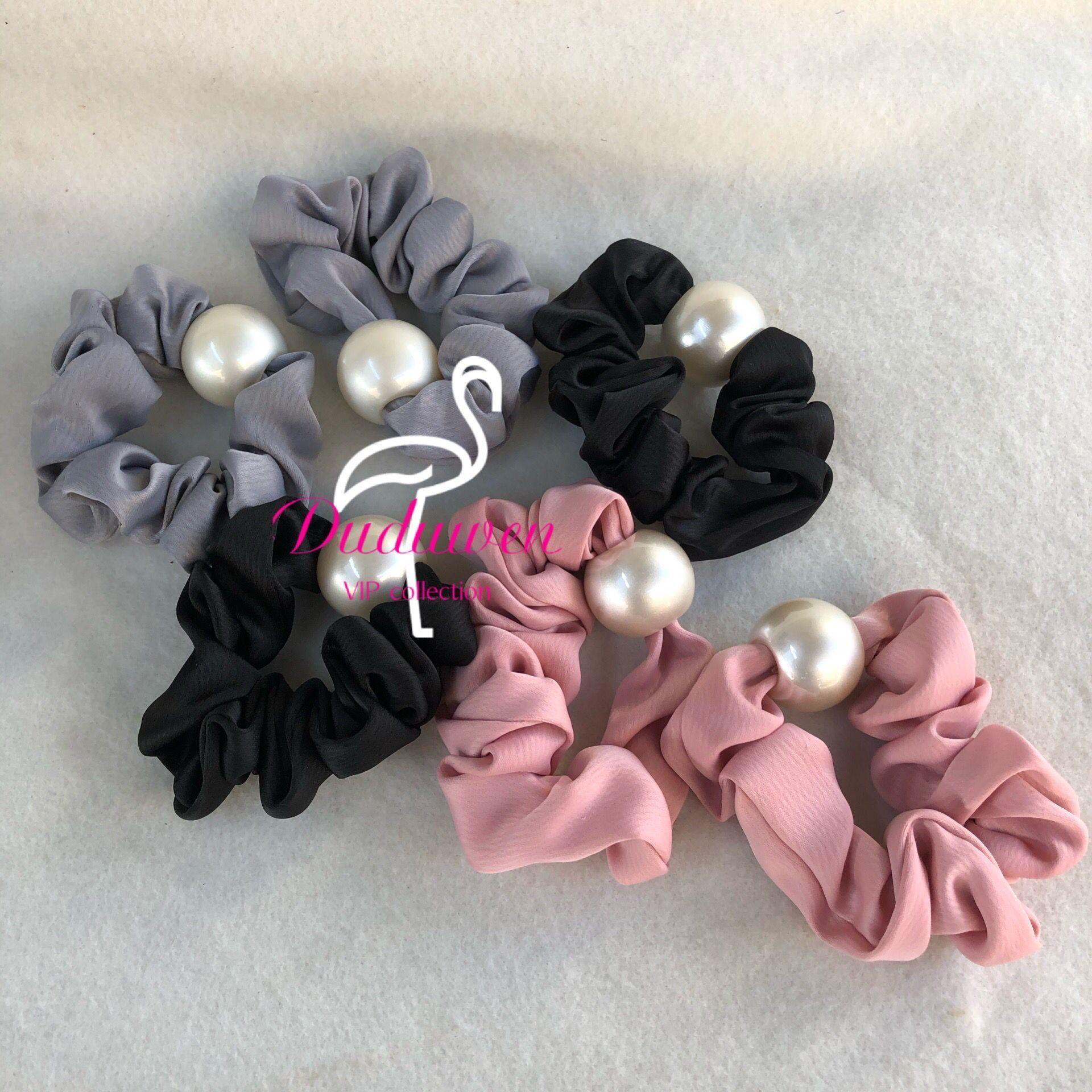 خيار اللون الأزياء c لؤلؤة الشعر التعادل حبل الشعر الكلاسيكية ل pearl c علامات الشعر الملحقات مع فرط بطاقة حزب هدية