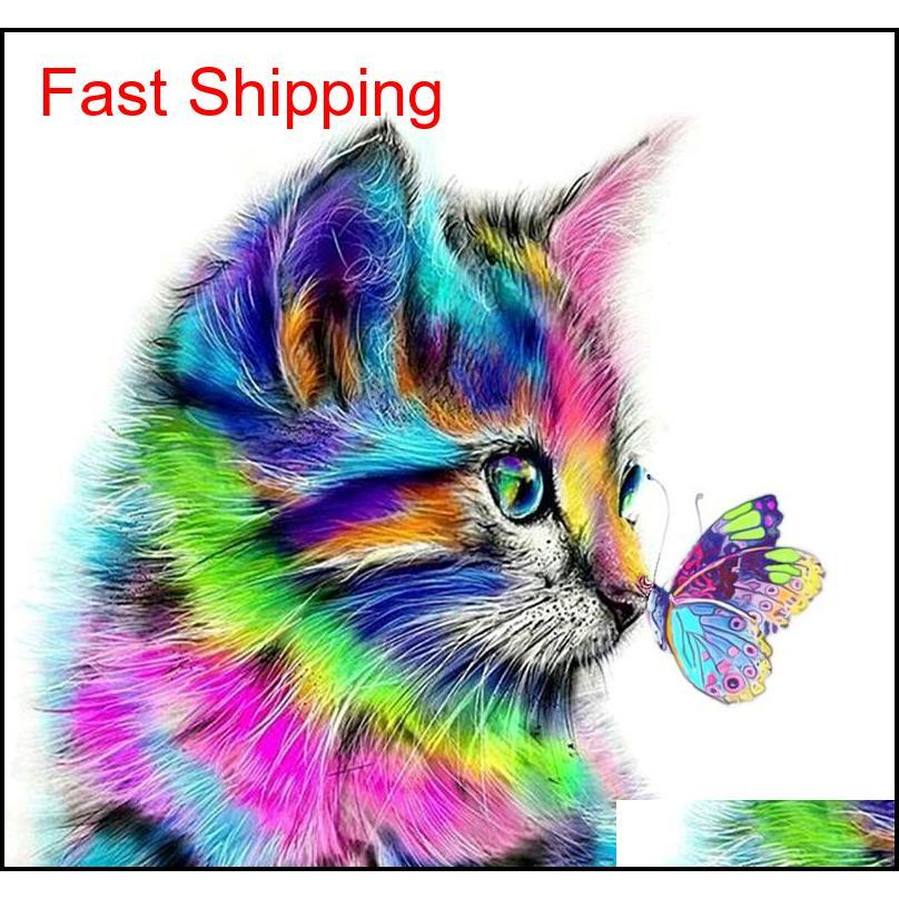 500+ Designs 5d Paintings Arts Gifts Diy Diamond Painting Cross Kits Diamond Mosaic Embroidery Landscape Anima qylbLW packing2010