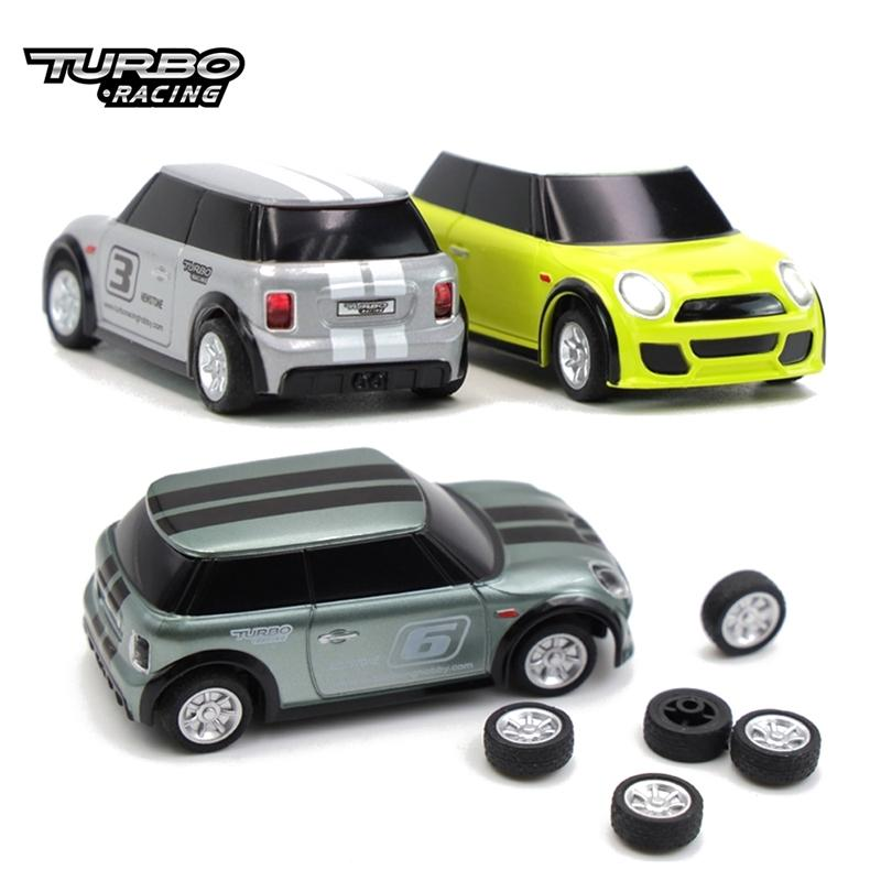 Turbo Racing 1:76 RC Car, Electric Race RTR Car, Racing Office Car с 2.4GHz REMONT Контроллер Новый год подарок 201218