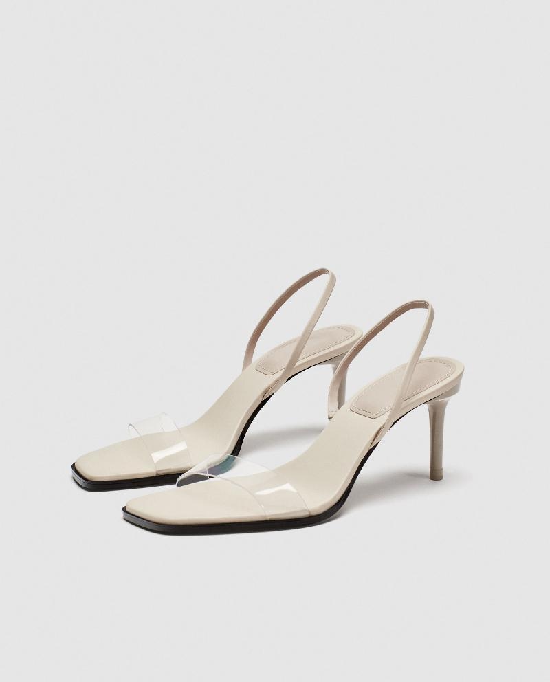 2021 verão novo sandálias feminina stiletto salto alça sexy transparente plástico quadrado quadrado estudante fada alto salto alto feminino