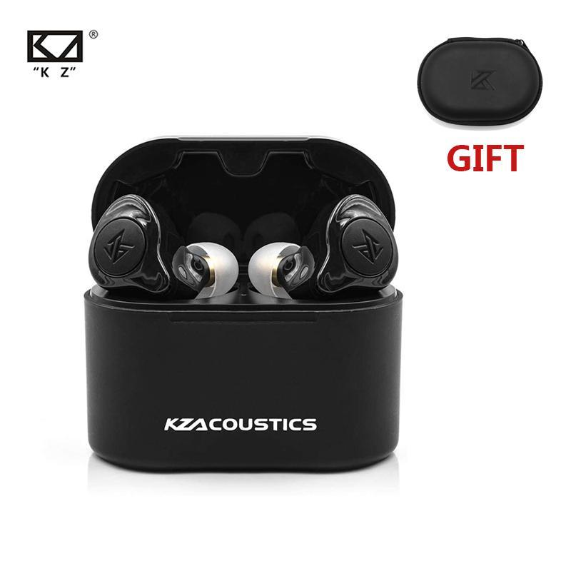 2020 NEW KZ S2 TWS True Wireless Earbuds Bluetooth Headset BT5.0 Hybrid AAC Sports In-Ear Noise Cancelling Stereo Earphones