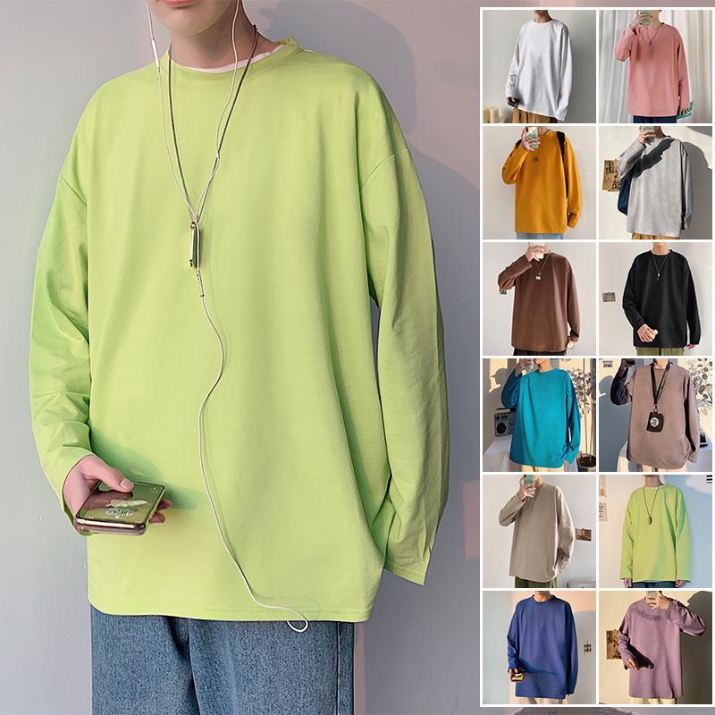 marca de moda masculina floja color puro bromista de han marea de la edición salud verde durante la primavera y el otoño 201019