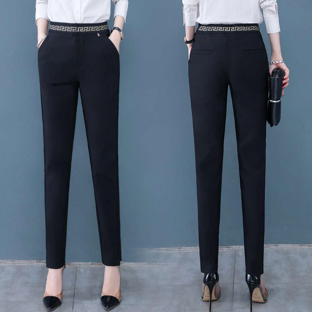 6tspring 2020 мода повседневная одежда темперамент женская маленькая нога карандаш P