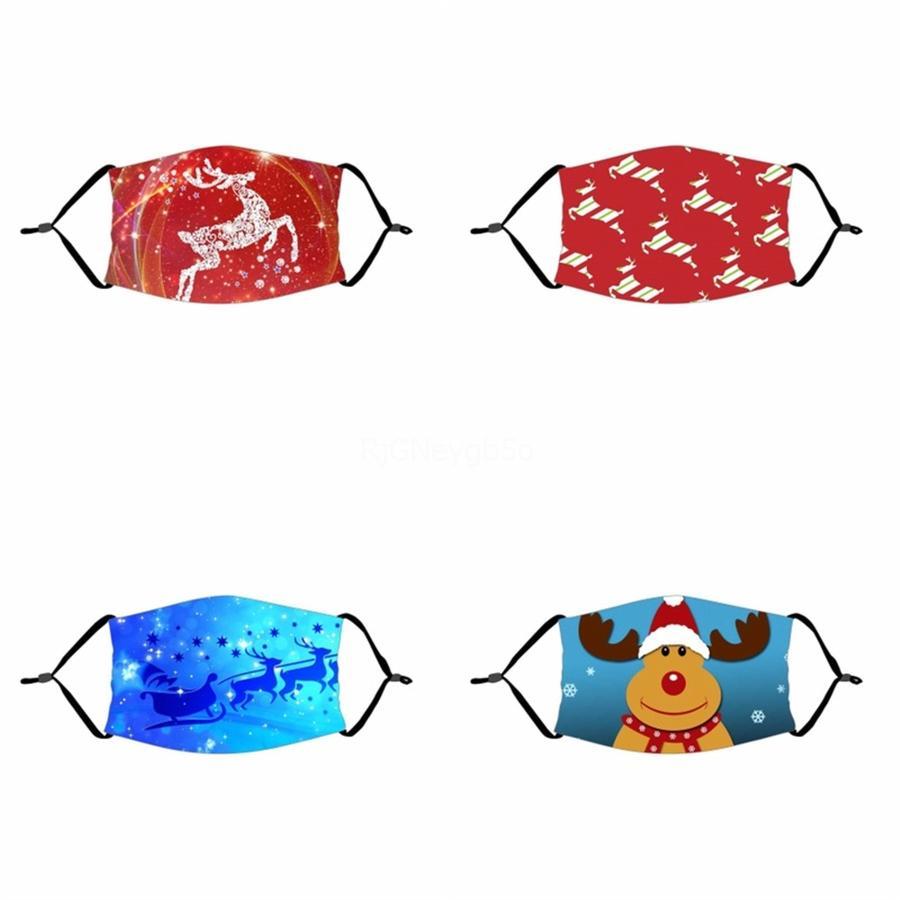Multi-Style Máscaras mixtos a prueba de polvo a prueba de niebla con humo máscara patrón impreso CamouflageWashable AdultFace máscara # 842