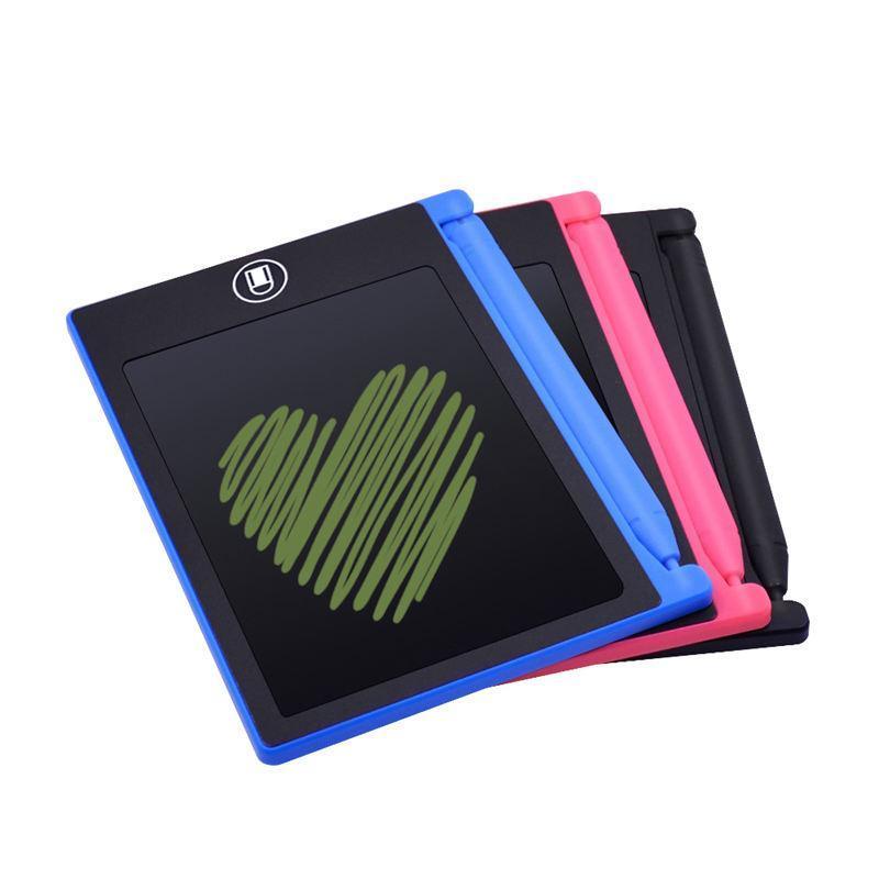 4.4 pulgadas LCD de Escritura Pintura Junta Juguetes para el regalo de los niños de la tableta gráfica Tableta digital electrónica de escritura a mano Bloc de dibujo Bloc de notas