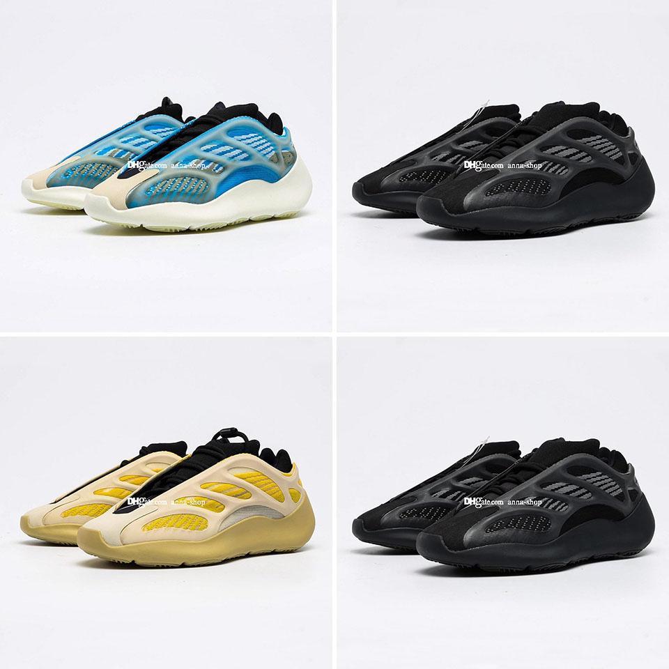 Kanye West 700 V3 Schiuma Runner scarpa da tennis per Scarpe 700V3 Alvah Sneakers Mens Arzareth sport degli uomini Srphym di donne che gestiscono Womens Azael scarpe