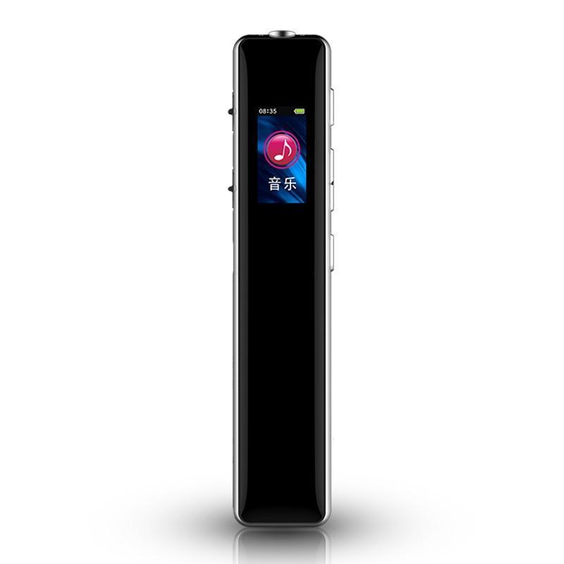 تسجيل صوتي رقمي 16 جيجابايت USB Dictaphone قابلة لإعادة الشحن مع ستيريو HD O