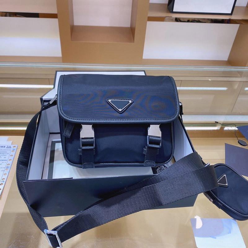 Портфель Мужская сумка Sacoche Homme Messenger Crossbody Сумки Топ Качественные сумки Кошельки Двух цветов Бесплатная Доставка