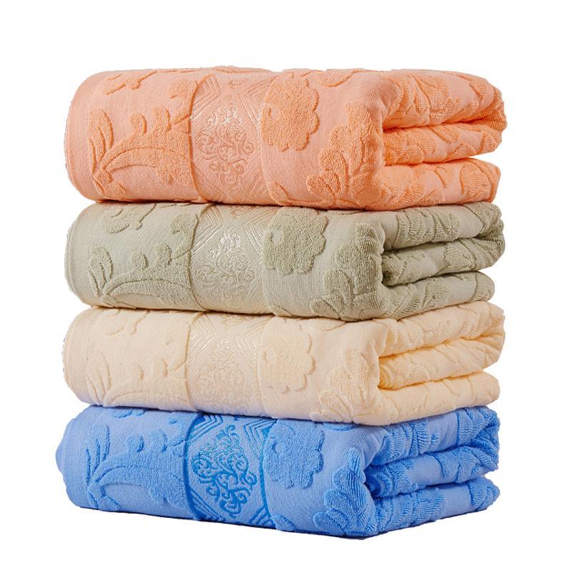 Venta caliente 100% algodón manta estilo japón adulto plena reina tamaño floral patrón jacquard verano toalla mantelas en la cama 201128