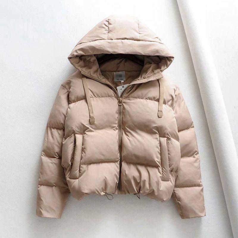 Cotton Padded Jacket Winter Hooded Parkas Woman Warm Down Jacket Large Size Woman Coat Thicken Women Casual Women Puffer Jacket 210203