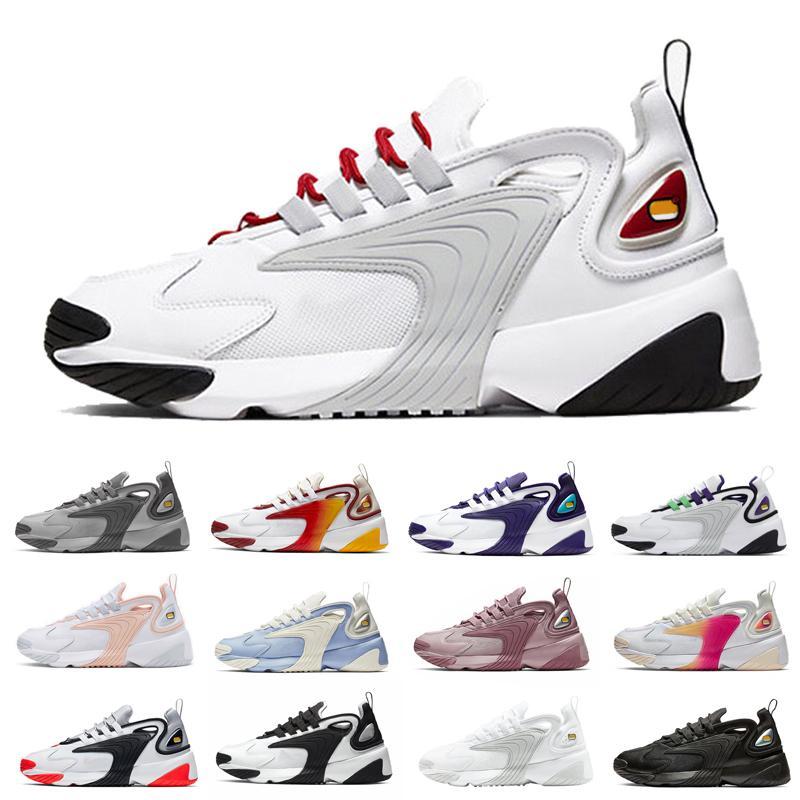 2021 Zoom 2 كيلو m2k tekno الرجال الاحذية النساء الأشعة تحت الحمراء فولت جامعة الأحمر الثلاثي الأبيض الأسود رجل المدربين الرياضة أحذية رياضية