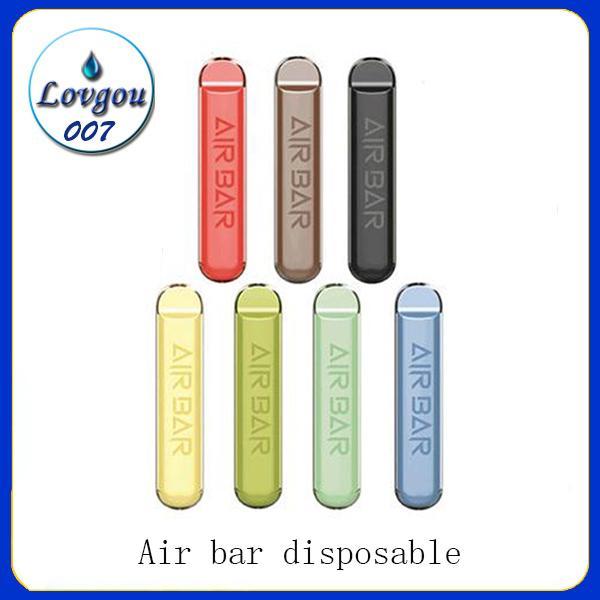 Air Bar monouso Pod dispositivo 1.8ml Vape Pen Kit 380 mAh batteria 500 sbuffi preriempita vapori e Cigs portatile Starter Kit Sistema