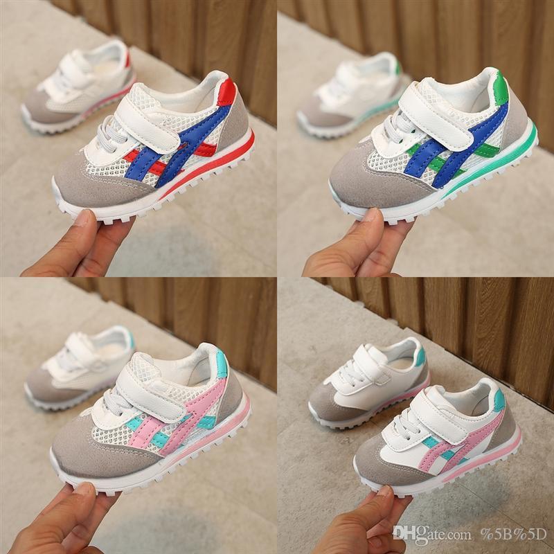 YNN scarpe sportive morbide LBJ colore maglia traspirante abbinato 15 scarpe da bambino autunno ragazze sneakers ragazzi bambini scarpe bambini bambini
