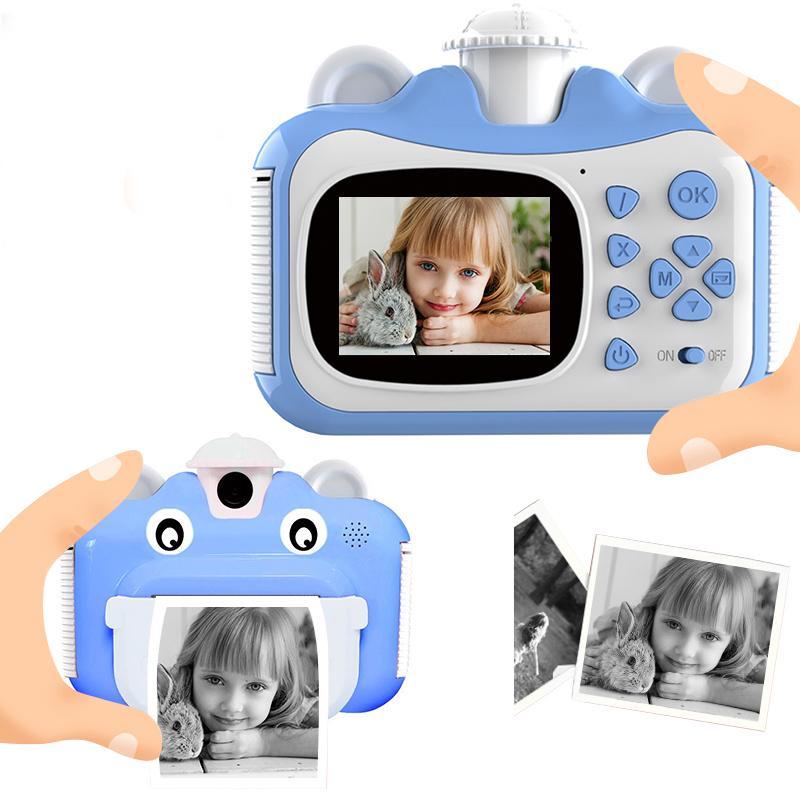 PickWoo Kid Toy Mini Digital Cámara linda para niños Bebé Juguetes para niños Foto instantánea de impresión de la cámara Regalo de cumpleaños para niñas Boys 1020